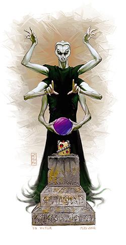 spell weaver Tessitore di Incantesimi - Autore ignoto Abissi e Inferi -- Compendio dei Mostri [Fiend Folio] (2003) © Wizards of the Coast & Hasbro
